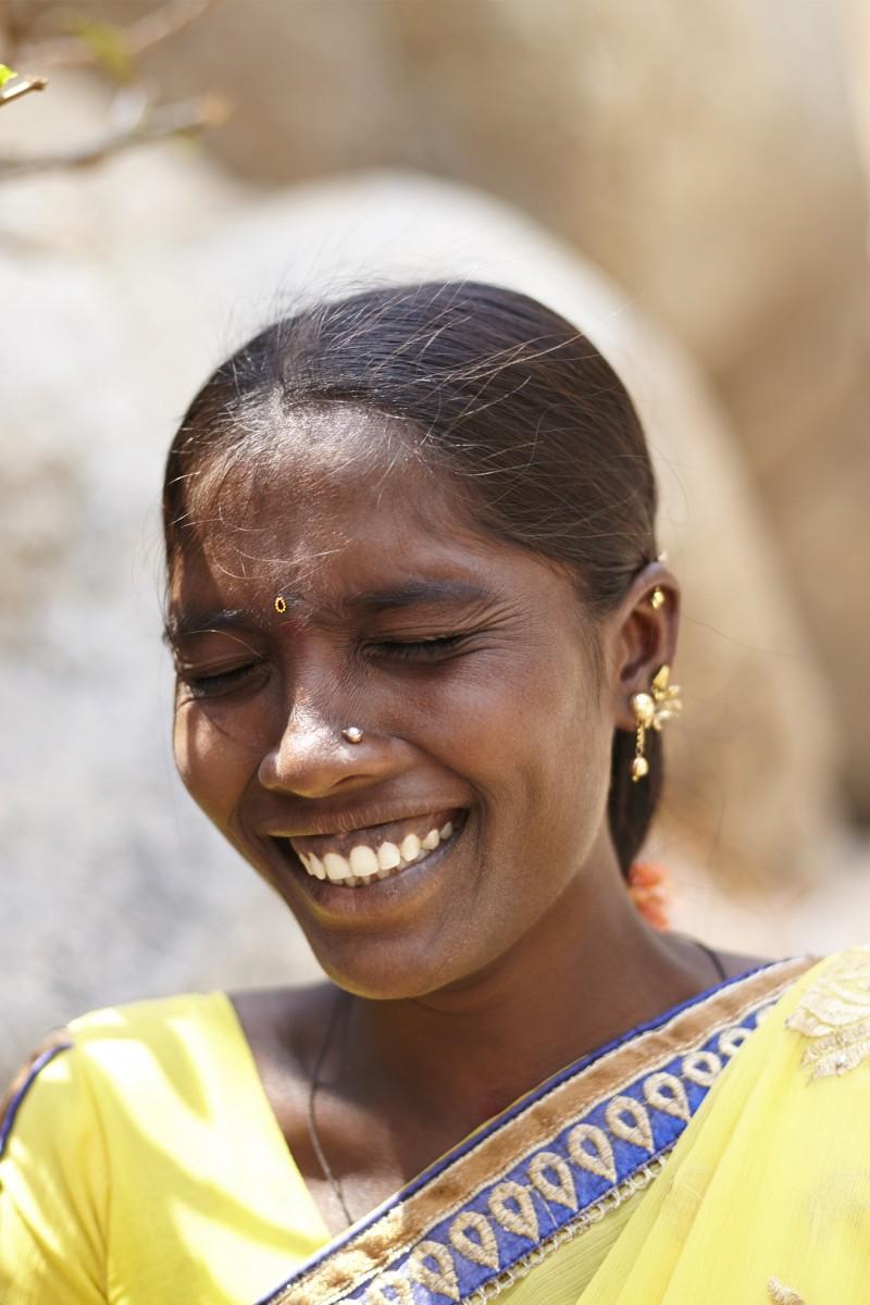 Woman & Smiles